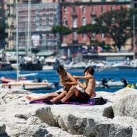 Napoli, un sabato di mare