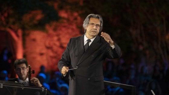 Muti, concerto per la Siria ai templi di Paestum