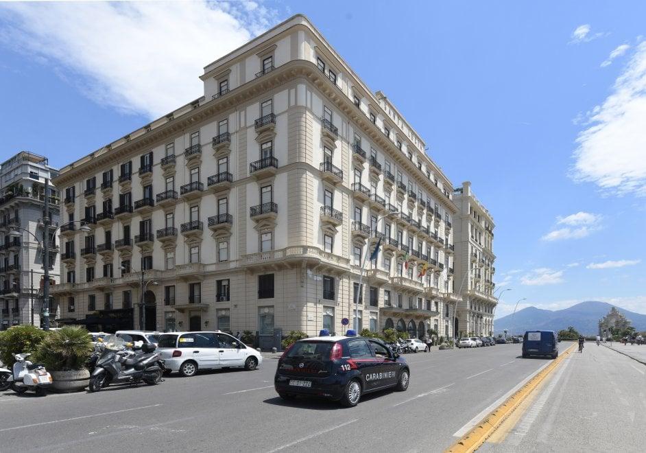 Napoli, Fede agli arresti in un albergo del lungomare