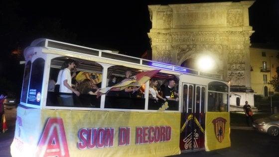 """Benevento in """"A"""" a suon di record, Inzaghi: """"Merito sopratutto della squadra"""""""