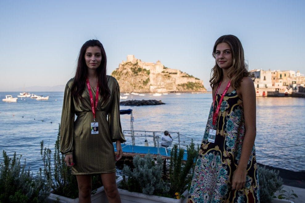 "Le due ""amiche geniali"" all'Ischia Film Festival"