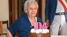 Enrica, la nonnina  di Castellammare  festeggia 104 anni