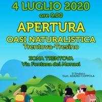 Agropoli, tutto pronto per l'inaugurazione dell'area naturalistica Trentova-Tresino