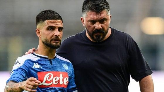 """Napoli, Gattuso scuote la squadra: """"Finiamo bene il campionato"""""""