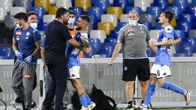 """Il Napoli accusa la Roma:    """"Ha violato il protocollo sanitario"""""""