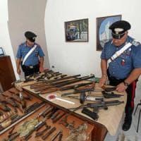 Nascondeva arsenale in casa: arrestato 63enne nel Casertano