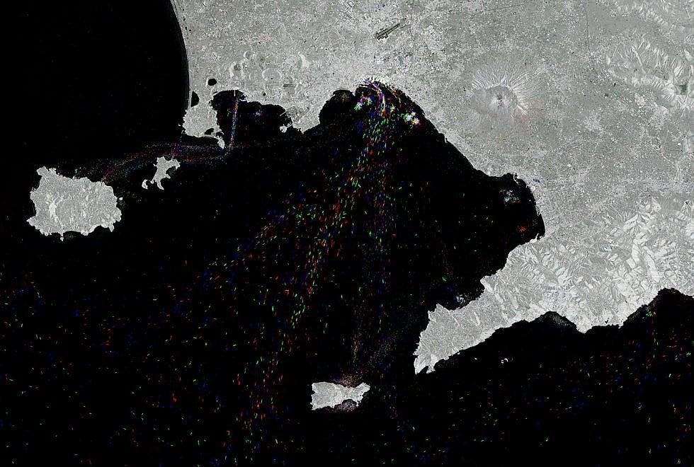 Il golfo di Napoli dallo spazio: lo straordinario scatto dell'Agenzia Spaziale Europea