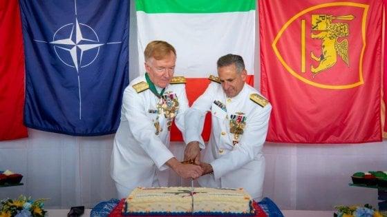 """Nato, il cambio di comando, Burke: """"Un vero privilegio guidare la base di Napoli"""""""