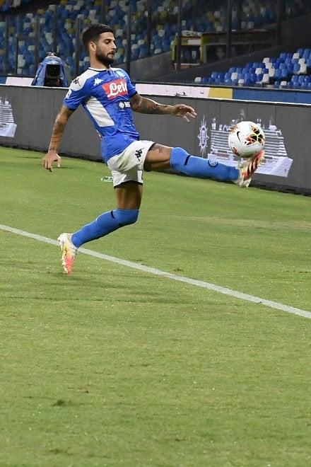Napoli-Lazio, Insigne segna su rigore