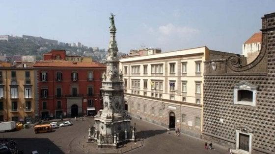 """Napoli, dal 17 agosto piazza del Gesù diventa area pedonale: """"Spazio a cittadini e biciclette"""" - la Repubblica"""