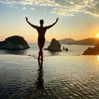 Roberto Bolle danza nell'isola di Nureyev a Positano
