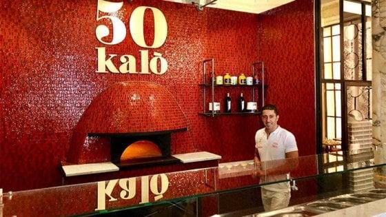 """""""50 Kalò London"""" di Ciro Salvo premiata come miglior pizzeria d'Europa"""