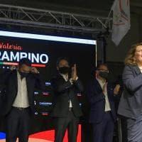 Elezioni Regionali in Campania, la conclusione della campagna elettorale di Valeria Ciarambino (M5s)