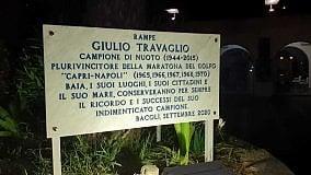 La Capri-Napoli e il Comune di Bacoli ricordano Giulio Travaglio