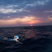 """Silvia, da Capri a Napoli a nuoto: """"La mia lunga notte nel mare del golfo"""""""