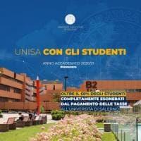 Università di Salerno, stop alle tasse per oltre metà degli studenti