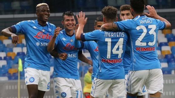 Calcio Napoli, Covid: tamponi tutti negativi - la Repubblica