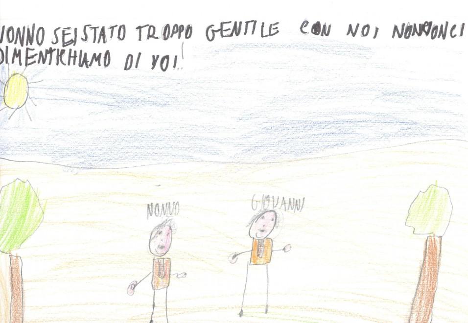 Grazie Nonno Paolo I Disegni Del Nipote Di Borsellino E Dei Bambini Della Nave Della Legalita La Repubblica