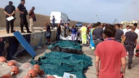 In manette cinque trafficanti per la strage di Lampedusa del 3 ottobre