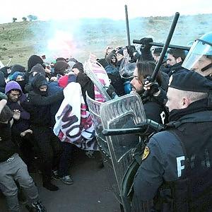 """Denunce e fogli di via ai """"No-Muos"""" palermitani, protestano gli studenti"""