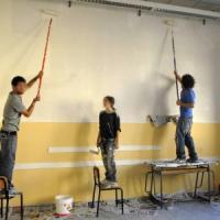 Cento studenti di tutto il mondo a Palermo per ridipingere una scuola