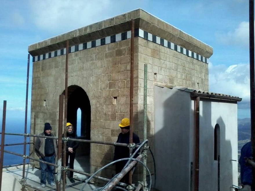 Rivive a Erice la torretta Pepoli, sarà faro del Mediterraneo