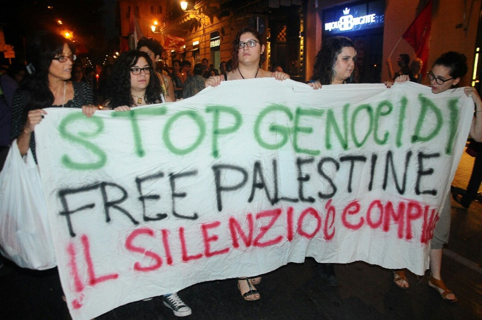 Marcia a Palermo per dire no alle bombe su Gaza