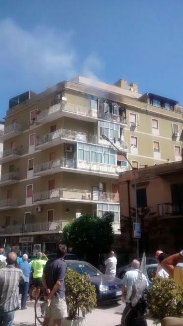 Incendio Appartamento Palermo
