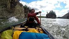 In canoa e in autostop tra Canada e Alaska l'impresa di Igor D'India