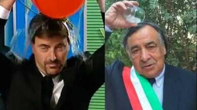 Sfida dell'ice bucket challenge  così Angelo Ruoppolo /  Video    batte il sindaco Orlando /  Video