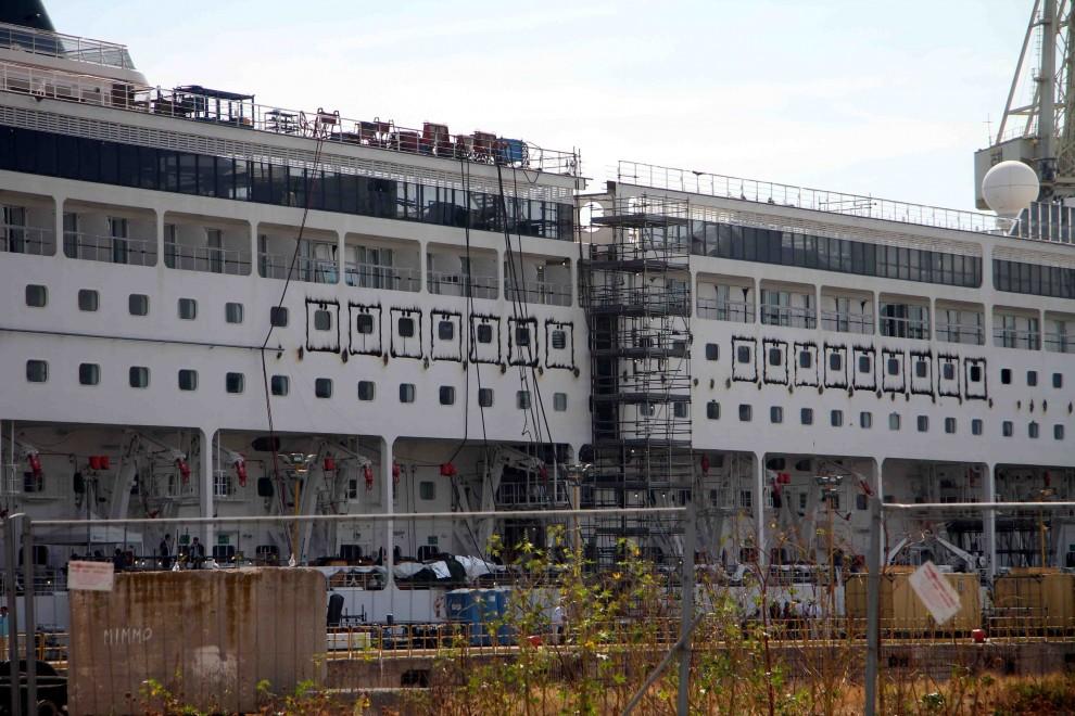 Fincantieri, allungato di 24 metri lo scafo della super nave