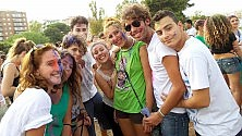 Al Parco Uditore festa e colori per la pace