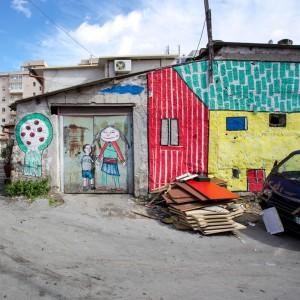 """La """"Street art"""" dei bambini invade Borgo Vecchio"""