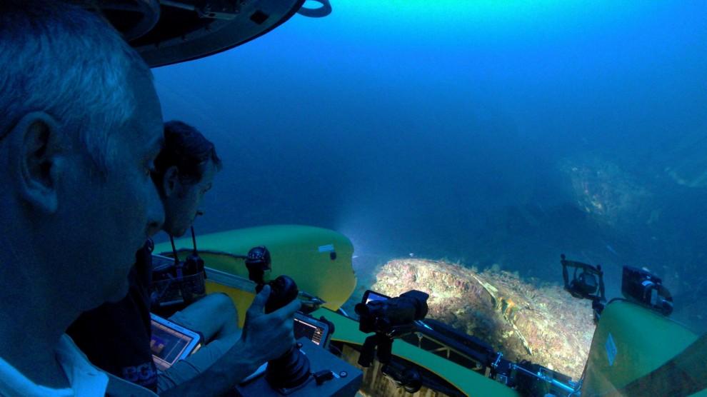 Eolie, mini-sommergibili trovano nave affondata duemila anni fa