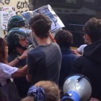 """Giannini in un liceo a Palermo. Tafferugli studenti-polizia. Il ministro: """"Noi ascoltiamo tutti"""""""