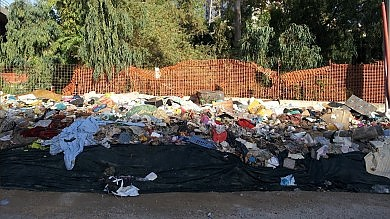 Bimbi tra i rifiuti sulle sponde dell'Oreto denunciati ventinove romeni   Foto