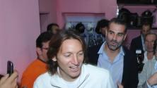 Barreto e Sorrentino  inaugurano  il Palermo point  foto