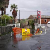 I danni del temporale a Misterbianco