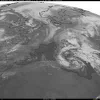 Ciclone lambisce la Sicilia, l'evoluzione nelle ultime ore