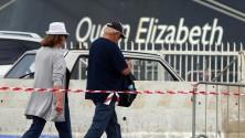 La Queen Elizabeth  in porto, sbarcano  i croceristi di lusso