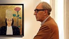Battiato pittore  i suoi quadri  in mostra a Modica