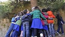 Un abbraccio da record  per la Festa dell'albero