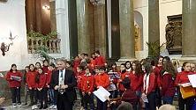 In Municipio  le canzoni di Natale  degli studenti