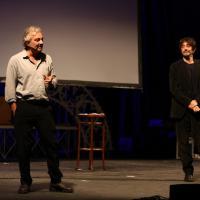 Veronesi, Rubini e Papaleo, lezione di cinema al Biondo