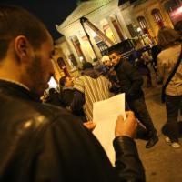 A Palermo sit-in dei musulmani contro la violenza