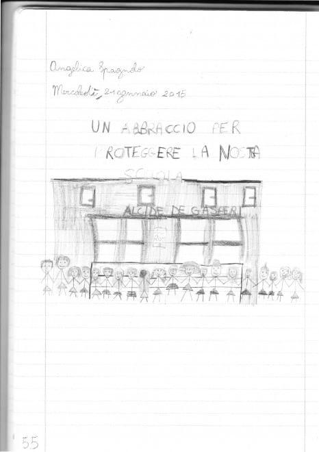 Le lettere degli scolari dopo i raid alla scuola De Gasperi