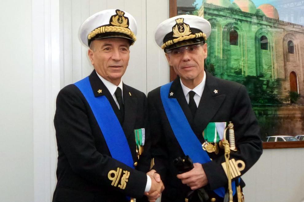 Cambio della guardia alla Capitaneria di Porto