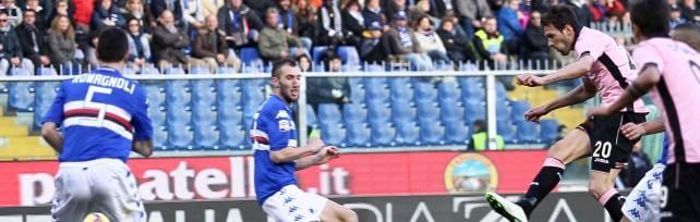 Il Palermo pareggia con la Samp 1-1 ma il gol-fantasma brucia/   LE PAGELLE