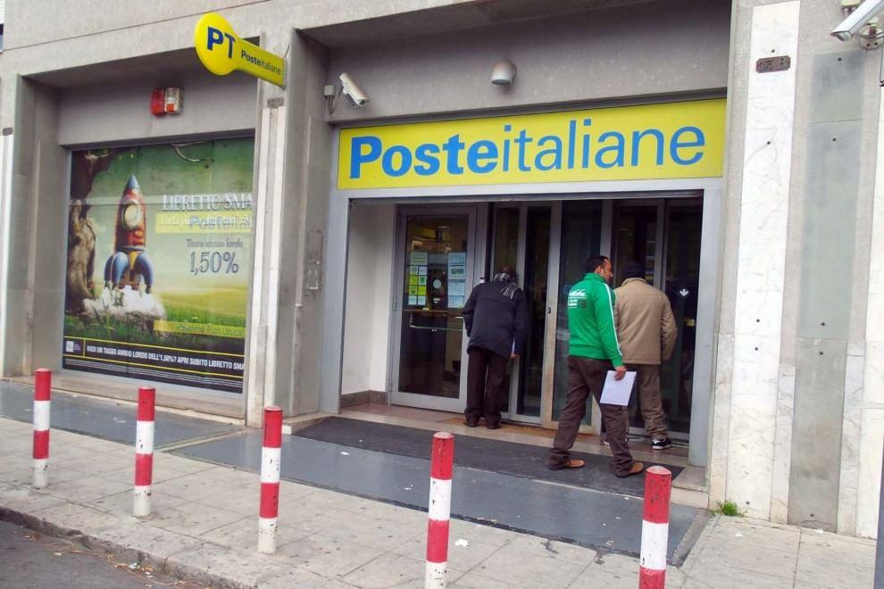 Ufficio Postale A Palermo : Rapinatore solitario assalta l ufficio postale di piazza unità d
