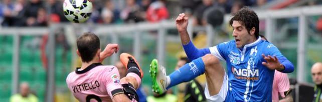 Palermo-Empoli finisce 0 a 0 Un pareggio che sta stretto ai rosanero